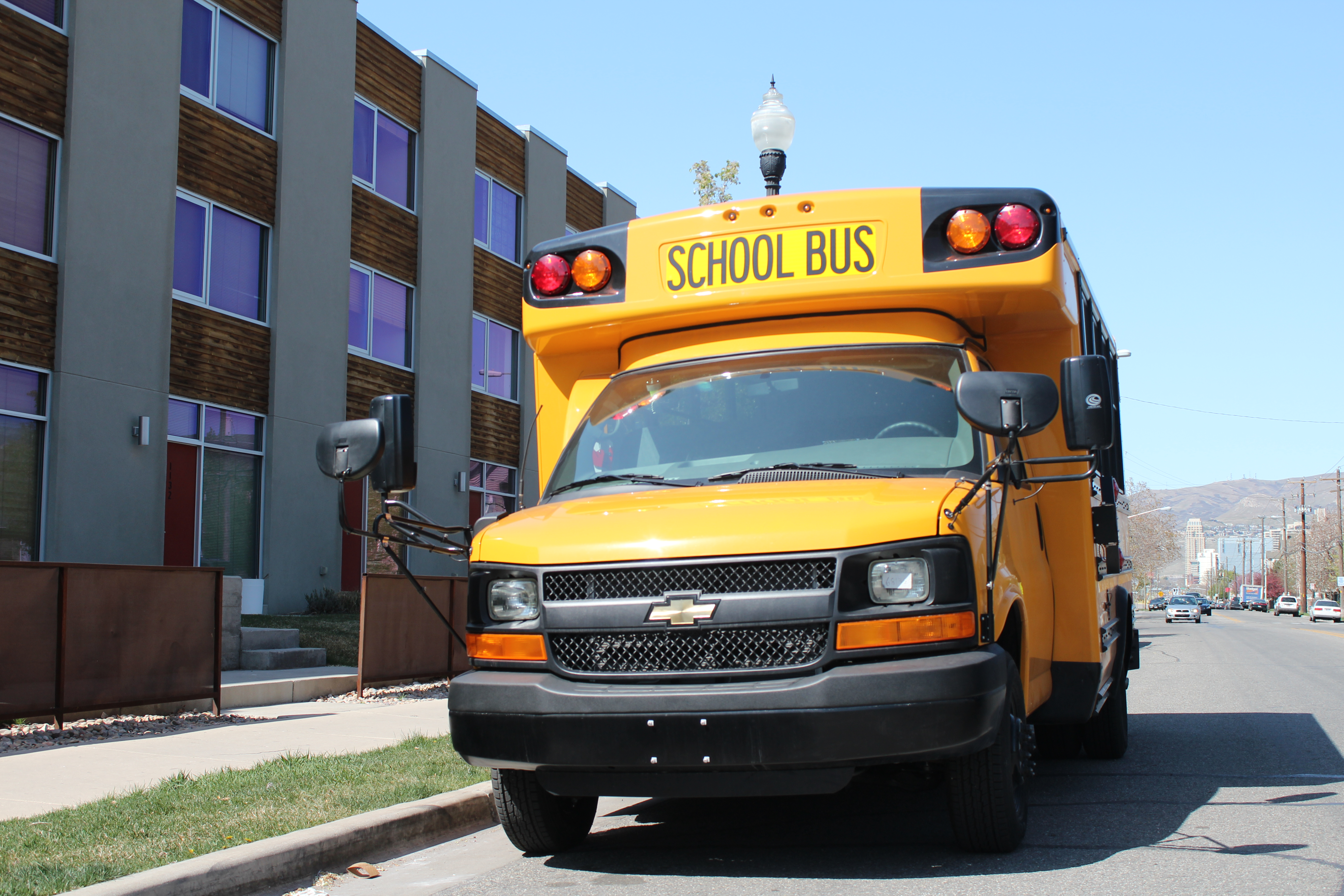 4x4 School Bus
